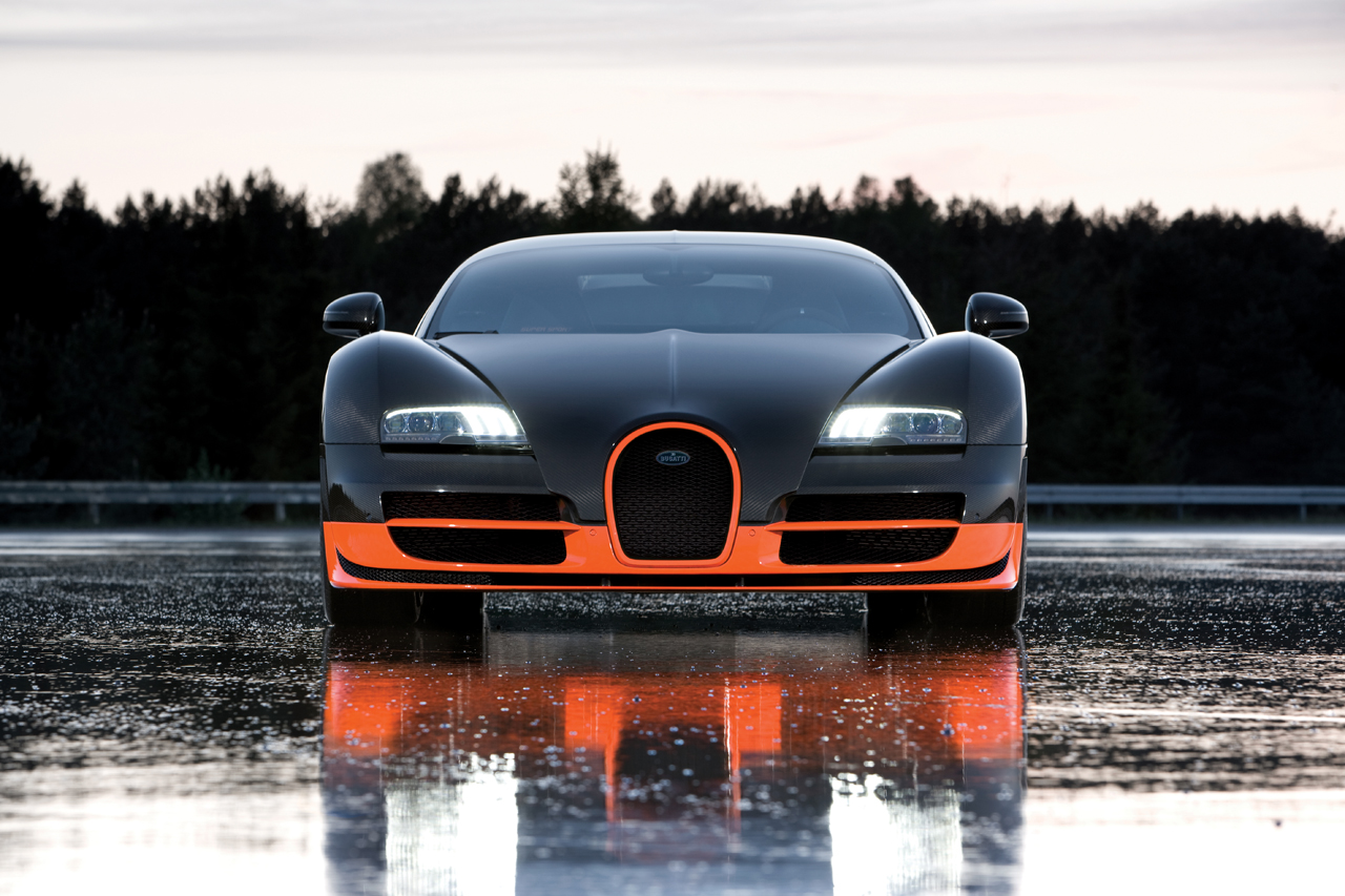 Bugatti Veyron Super Sport Cars Grand Edition New Branded Car