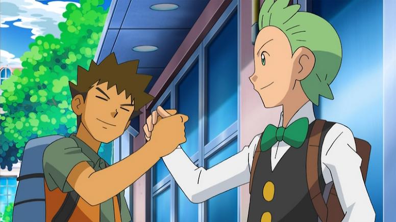 Brock e Cilan