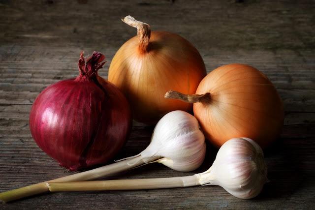 Garlic, Onion