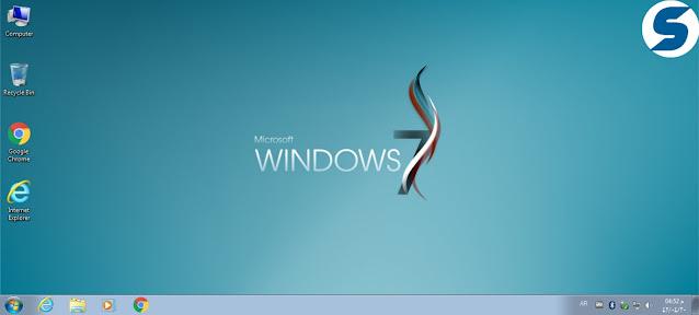 مميزات  Windows 7 SP1 Super Lite 2021 :