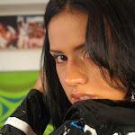 Andrea Rincon, Selena Spice Galeria 5 : Vestido De Latex Negro Foto 93