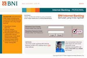 Cara Daftar Internet Banking BNI, Aktifasi dan Penggunaanya