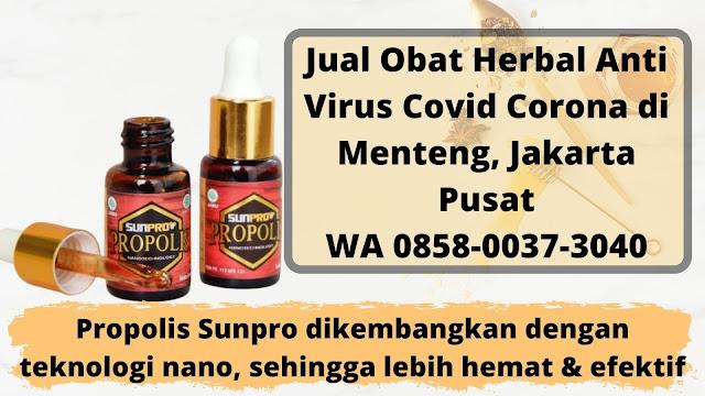 Jual Obat Herbal Anti Virus Covid Corona di Menteng, Jakarta Pusat WA 0858-0037-3040