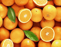 Orange healthy foods