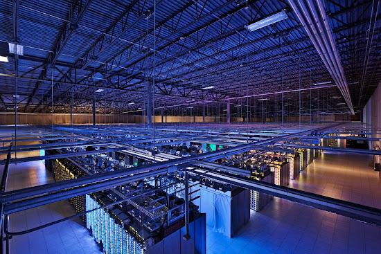 server google yang cukup besar di Iowa