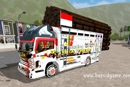 Mod Truck Isuzu NMR71 Muatan Kayu By HSD BMI