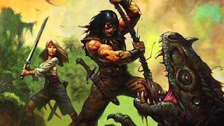 Conan es Valeria Voros szogek