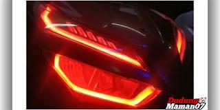 Tampilan Modifikasi Lampu Motor Vario 125 Terbaru