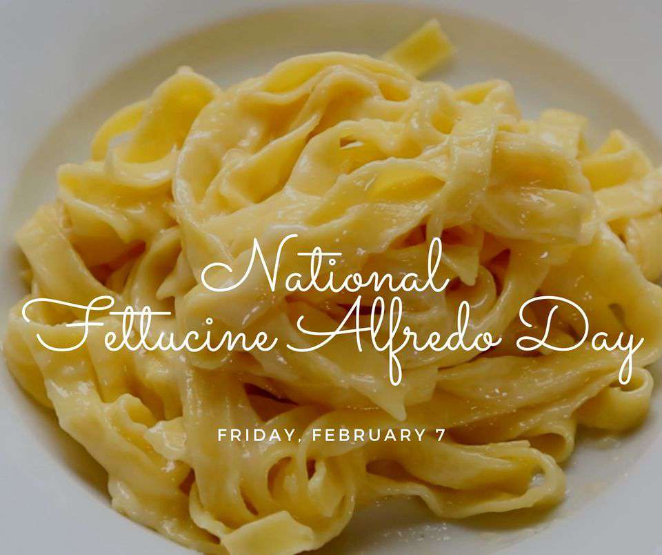 National Fettuccine Alfredo Day Wishes Pics