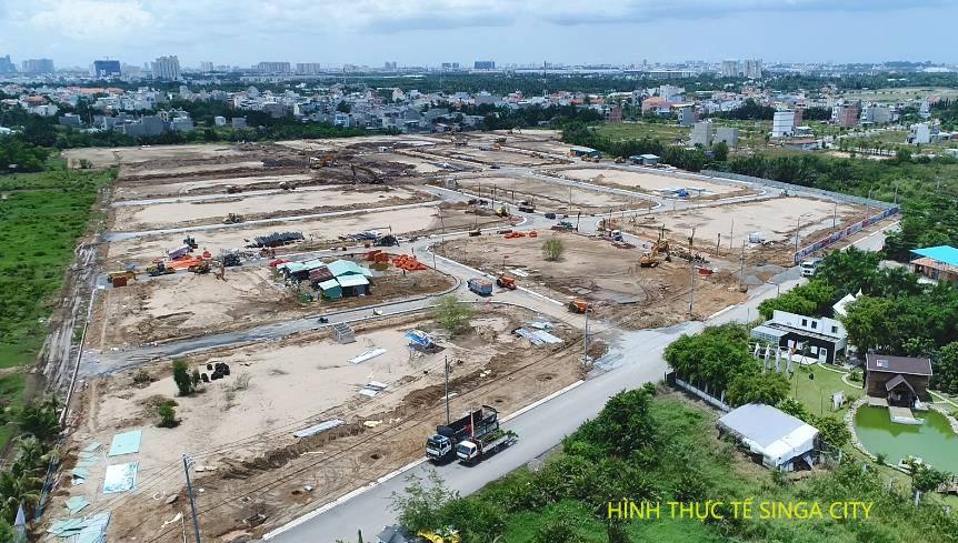 Dự án đất nền Singa City Quận 9 -4