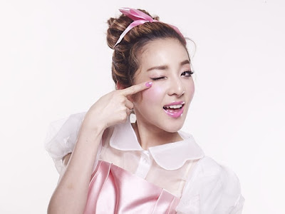 Korean Makeup Look #2 2NE1 Dara Girly Look