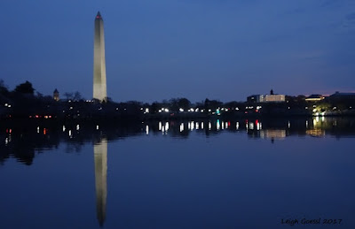 Tidal basin reflections of monuments