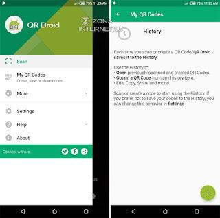 Cara Membuat QR Code Sendiri Di Android Melalui Aplikasi QR Droid