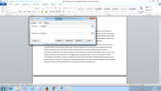cara find and replace di ms word
