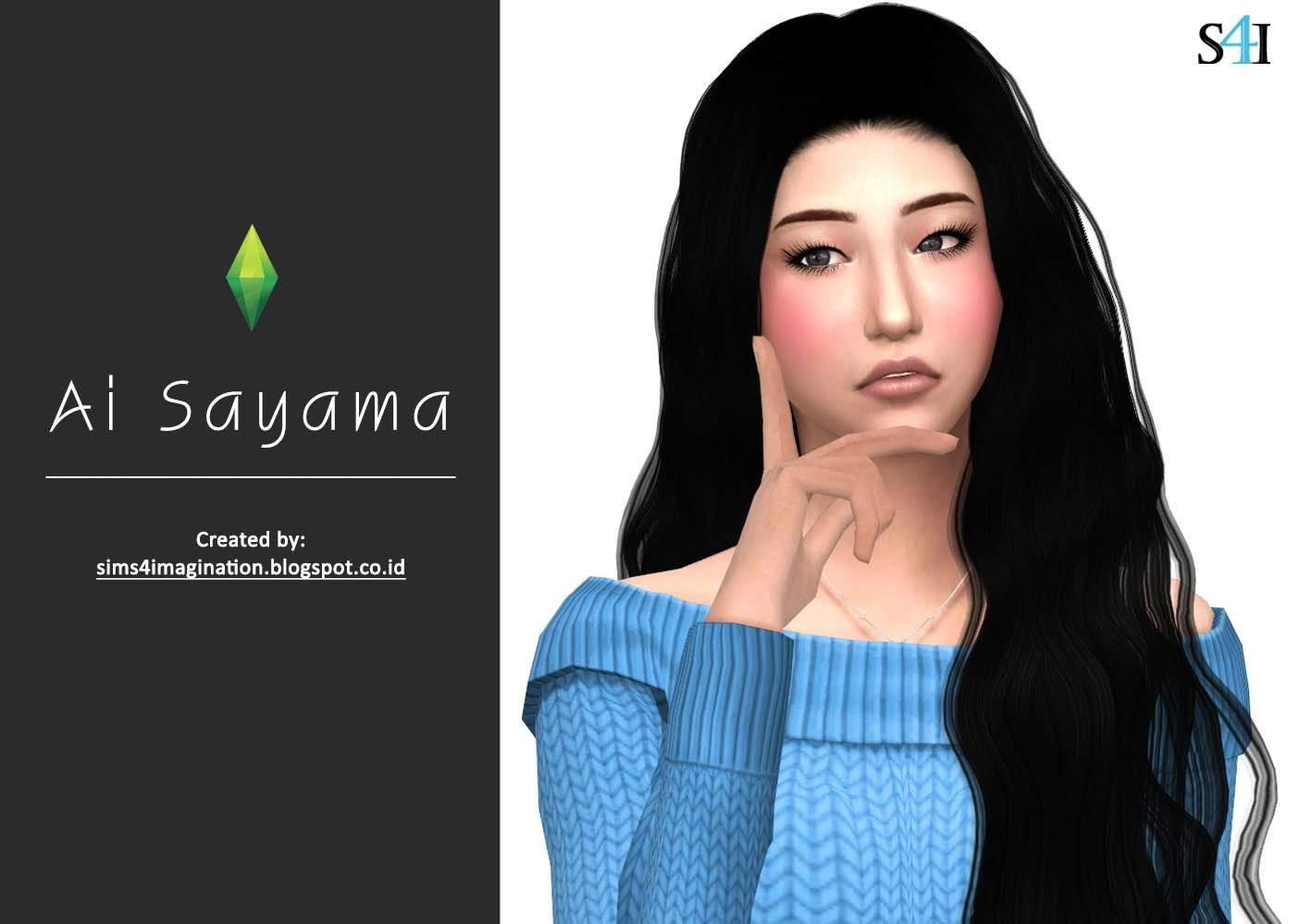 My Sims 4 CAS: Ai Sayama (佐山愛)