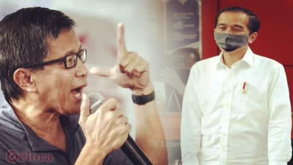 Rocky Gerung: Jokowi Bukan Pemimpin dalam Keadaan Krisis