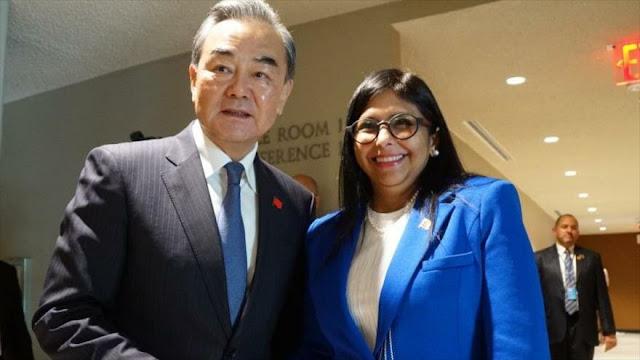 China apoya a Venezuela ante sanciones unilaterales de EEUU