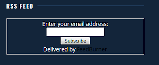input email rss feed