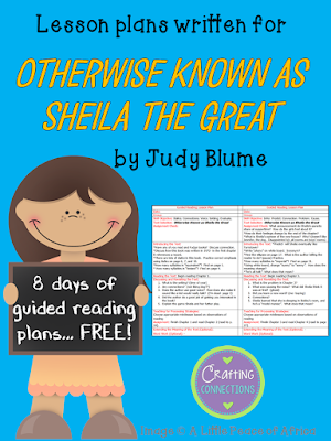 Otherwise Known as Sheila the Great Lesson Plans