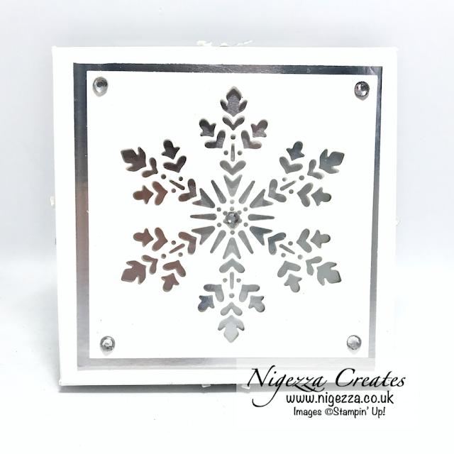 Elegant Snowflake Box