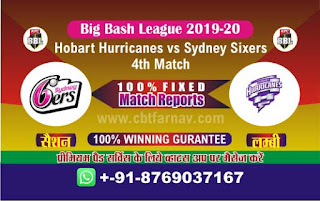 Today Match Prediction BBL T20
