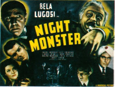 Nils Asther: Night Monster (House of Mystery) 1942