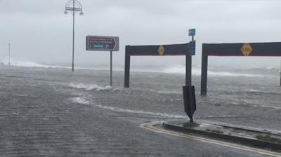 Huracán en Irlanda