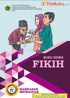 Buku Fikih Siswa MI Kelas 4-IV Kurikulum 2013 Revisi 2019