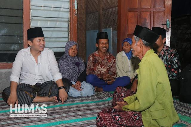 Plt. Bupati Trenggalek Tutup Kegiatan Safari Ramadhan dengan Nginap di Rumah Warga dan Ngabuburit di Tempat Wisata