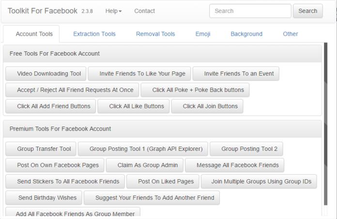 facebook social toolkit premium cracked