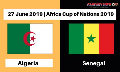موعد مباراة الجزائر والسنغال اليوم الخميس 27 / 06 / 2019 الجزائر في كأس الأمم الأفريقية