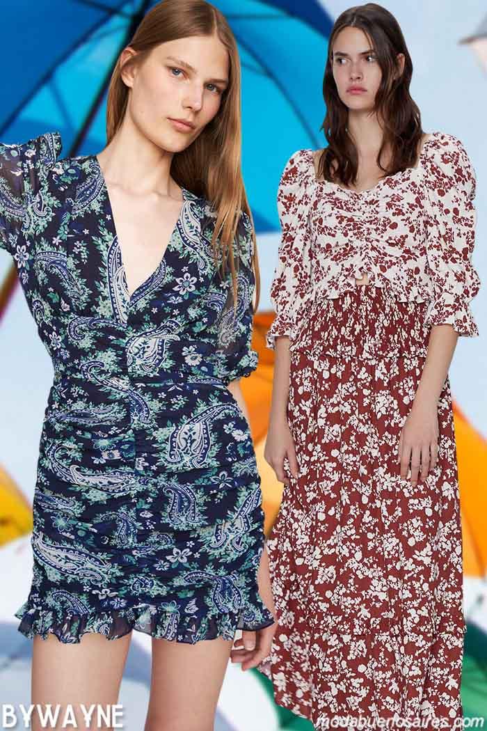 maxifaldas y minifaldas primavera verano 2021