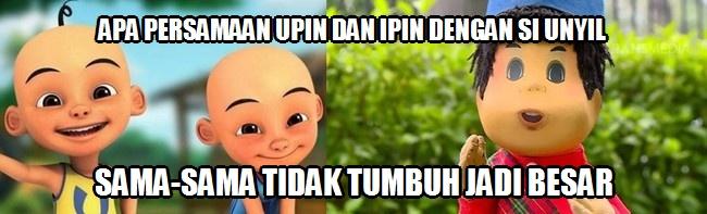 Meme Lucu Upin Dan Ipin