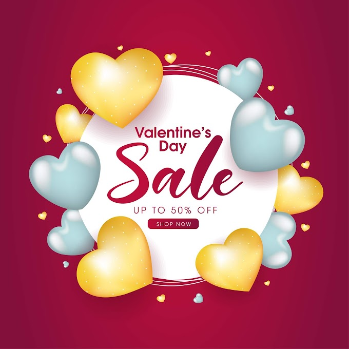 good valentines day ideas Business Valentines day promotion flyer free vector