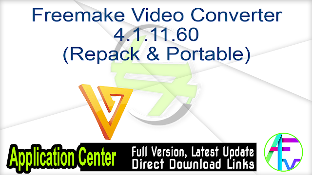 Freemake Video Converter 4.1.11.60 (Repack & Portable)