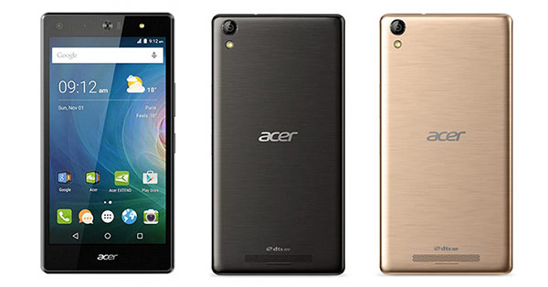 Acer Liquid Jade 2 Specifications - LAUNCH Announced 2016, February DISPLAY Type Super AMOLED capacitive touchscreen, 16M colors Size 5.5 inches Resolution 1080 x 1920 pixels (~401 ppi pixel density) Multitouch Yes Protection Corning Gorilla Glass 4 BODY Dimensions - Weight - SIM Dual SIM (Nano-SIM, dual stand-by) PLATFORM OS Android OS, v6.0 (Marshmallow) CPU Hexa-core (4x1.4 GHz Cortex-A53 & 2x1.8 GHz Cortex-A57) Chipset Qualcomm MSM8992 Snapdragon 808 GPU  MEMORY Card slot microSD, up to 256 GB Internal   32 GB, 3 GB RAM CAMERA Primary 21 MP, autofocus, dual-LED flash Secondary 8 MP Features Geo-tagging, touch focus, face detection, HDR, panorama Video 2160p@30fps NETWORK Technology GSM / HSPA / LTE 2G bands GSM 850 / 900 / 1800 / 1900 - SIM 1 & SIM 2 3G bands HSDPA 900 / 2100 4G bands LTE Speed HSPA 42.2/5.76 Mbps, LTE Cat4 150/50 Mbps GPRS Yes EDGE Yes COMMS WLAN Wi-Fi 802.11 a/b/g/n/ac, dual-band, Wi-Fi Direct, hotspot GPS Yes, with A-GPS USB microUSB v2.0 Radio FM radio Bluetooth v4.0, A2DP, LE FEATURES Sensors Accelerometer, gyro, proximity, compass Messaging SMS (threaded view), MMS, Email, Push Email Browser HTML5 Java No SOUND Alert types Vibration; MP3, WAV ringtones Loudspeaker Yes 3.5mm jack Yes  - DTS sound BATTERY   Stand-by  Talk time  Music play -  MISC Colors Black  - MP3/WAV/AAC player - MP4/H.264 player - Photo/video editor - Document viewer