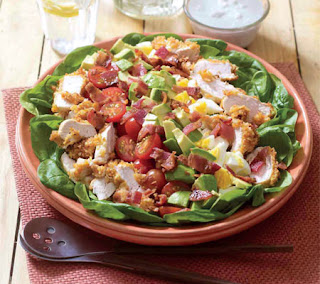 fried chicken cobb salad recipe