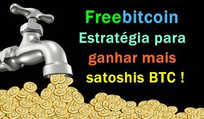 Freebitcoin estratégia para ganhar mais satoshis.