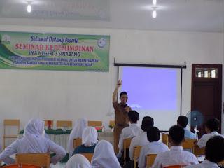 SMA Negeri 3 Sinabang, adakan Seminar Kepemimpinan