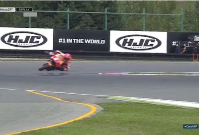 Marquez Selamat Setelah Menikung Ekstrim di Latihan GP Brno