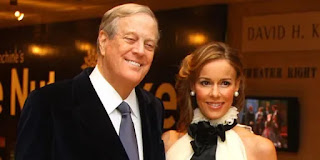 David Koch and his Wife