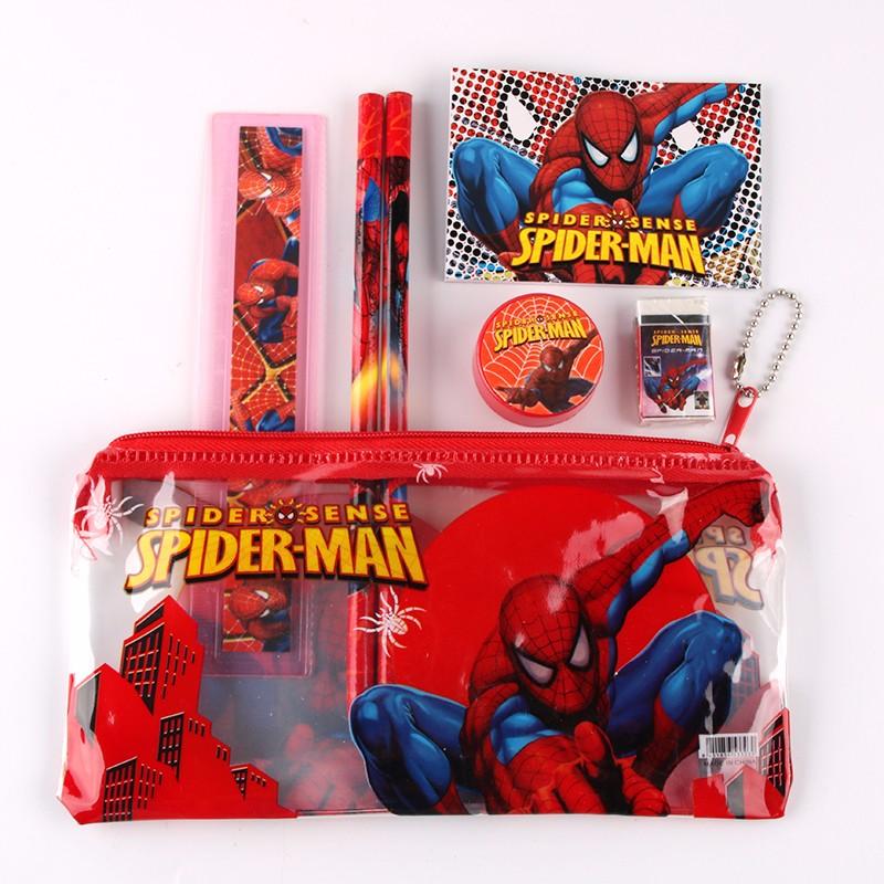 5 Astucci scuola SPIDERMAN bambino gadget regalo fine festa compleanno a  tema 7f8faad4670b