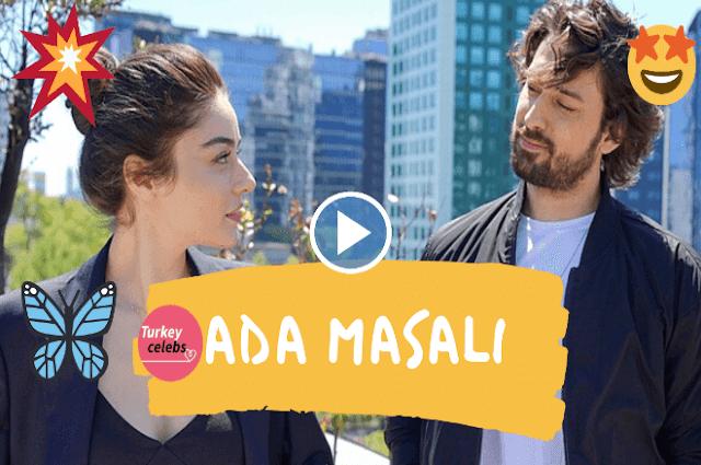 Ayça ayşin turan new turkish tv series ada masali an island tale.