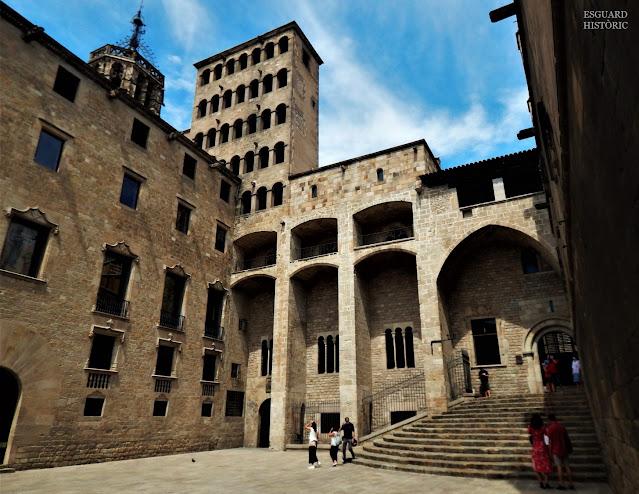 Plaça del Rei Barcelona