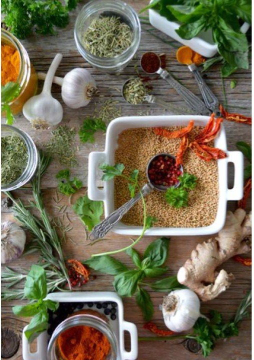 collection of spice and rub recipes to make and keep on hand