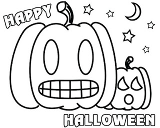 Halloween Pumpkin Coloring Pages Free
