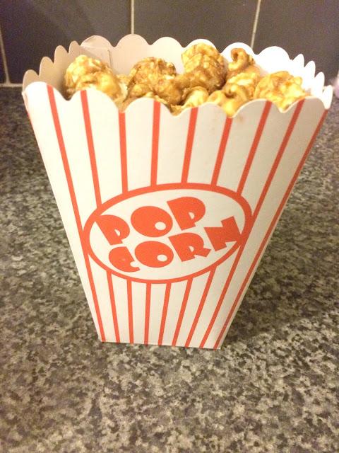 box popcorn