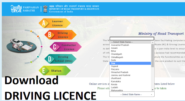 driving licence print copy