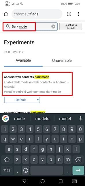 Cara Merubah Halaman Google Chrome 'Dark Mode' Android