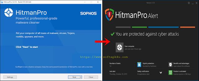 Hitman Pro - Anti Malware Software